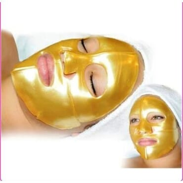 24K Karat Gold Mask Mud Whitening Anti Ageing Anti Wrinkle Anti Acne Anti Toxin  Moisturizing Oil Control