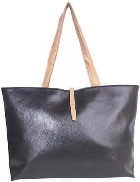Simple Tote Vogue Bag - Black