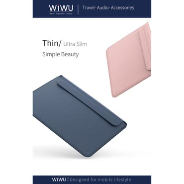 WIWU Skin pro II PU Leather Protect Case Laptop Bags for MacBook 12/13.3/15.4 inch