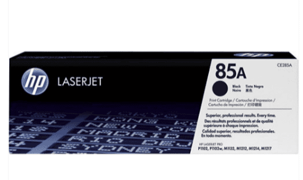 HP 85A Black LaserJet Toner Cartridge