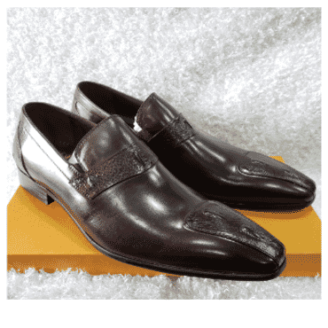 Wine Paul Parkman Loafer Shoe + A Free Happy Socks