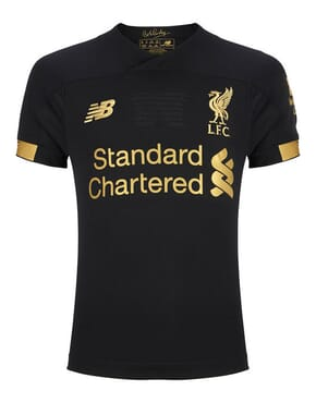 NEW BALANCE LIVERPOOL HOME GOALKEEPER HOME SHIRT 2019 2020 KIDS