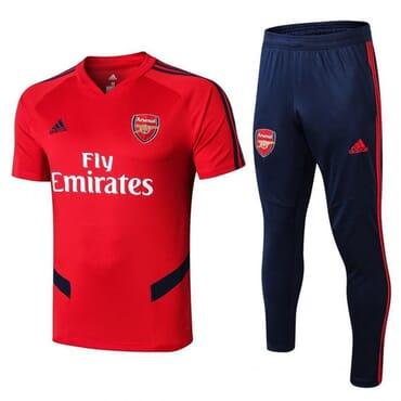 ARSENAL TRAINING KIT RED-WITH JOGGERS