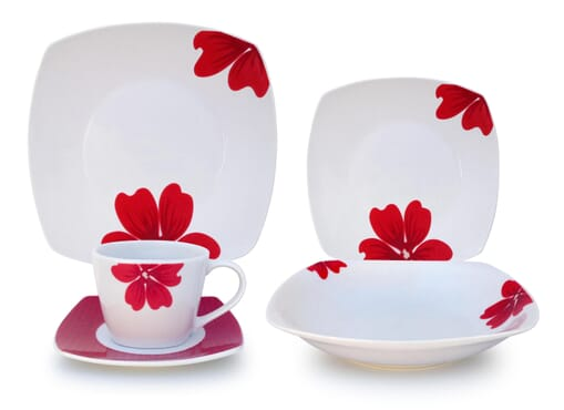 Chelsma by Meriss Square Dinnerset