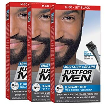 Just For Men Mustache And Beard Brush-in Color Gel