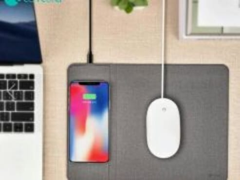 Wireless charger + Mouse Pad