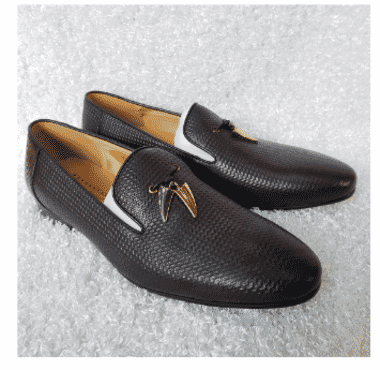 Ash Men's Tassel Loafer Shoe + A Free Happy Socks