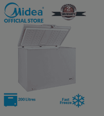 Midea 198-Litre Chest Freezer (HS 258)