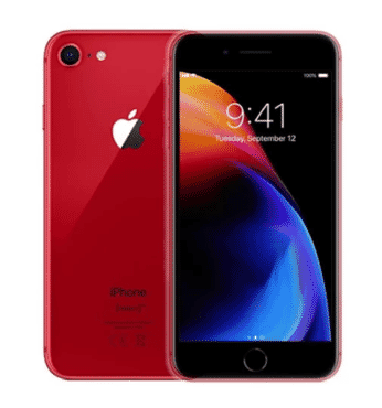 Apple iPhone 8 Red - 64GB - Red - 1 Year Warranty