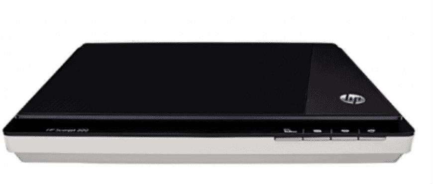 HP SCANJET 300 FLATBED PHOT SCANNER