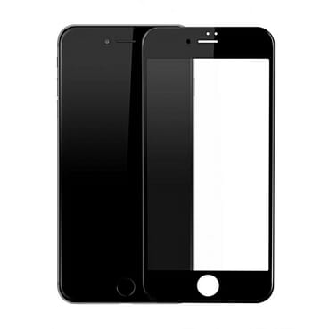 Universal IPhone 7 3D Screen Protector Tempered Glass - Black