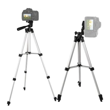 Hotpro Tripod - Tablet & Phone Holder - 12x Zoom Lens Camera Remote