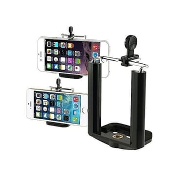 Hotpro Tripod - Phone Holder + 12x Zoom Lens + Clip Microphone