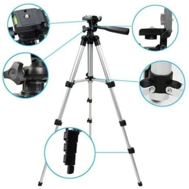 HotPro Tripod Stand With Phone & Tablet Holder