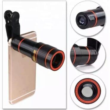 Hotpro 305 Tripod + Tablet & Phone Holder + 12x Phone Zoom Lens