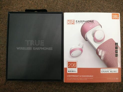 READY STOCK JBL 206 HIFI EARPHONE BLUETOOTH