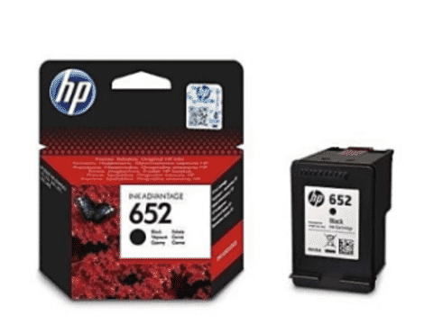 HP Genuine 652 Ink Black Advantage Cartridge