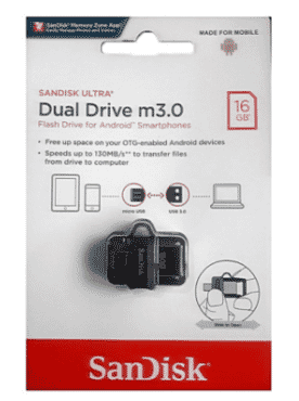 Sandisk 16GB Ultra OTG Dual USB Flash Drive