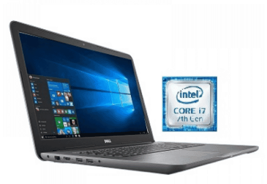 Dell Inspiron 17 5767 – 6370 Core I7 Laptop 17.3 Inch 16 GB RAM 2TB Hard Drive – Recertified