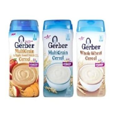Gerber 3 Flavors Sitter Cereal