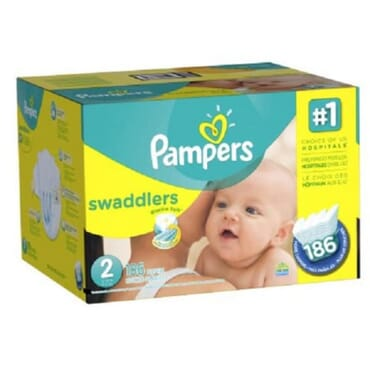 Pampers Swaddlers Diapers Are The #1 C