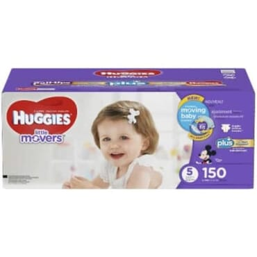 Huggies Little Movers Diapers - Size 5