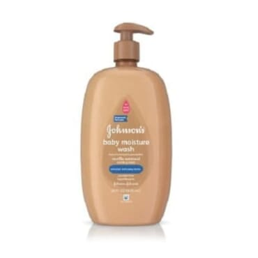 Johnson's Oatmeal Baby Lotion And Oatmeal Baby Moisture Wash