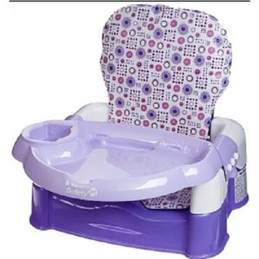 Safety 1st Deluxe Sit, Snack & Go Convertible Booster Seat - Purple