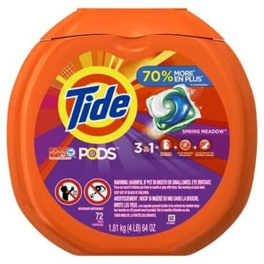 Tide Pods Laundry Detergent Pacs - 72 Loads
