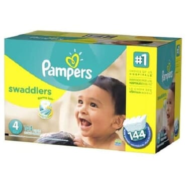 Pampers Swaddlers Diapers - Size 4 144