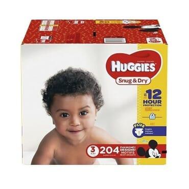 Huggies Snug N Dry - Size 3 204