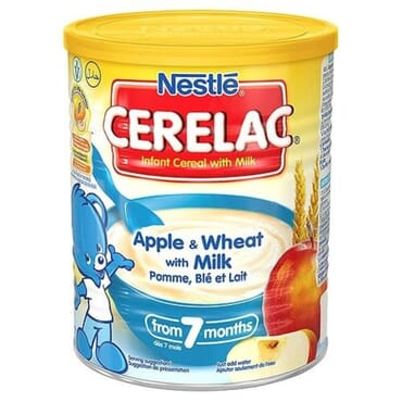 Nestle Cerelac Apple & Wheat With Milk - 400g
