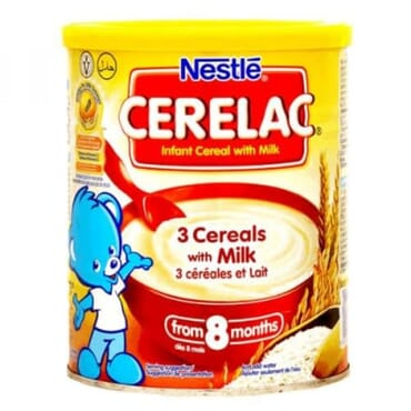 Nestle Cerelac 3 Cereals With Milk - 400g