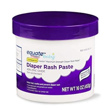 Equate Maximum Strength Diaper Rash Relief - 453g