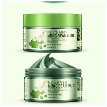 Skin Care Mung Bean Facial Mud Mask Mud Whitening Anti Ageing Anti Wrinkle Anti Acne  Moisturizing Oil Control