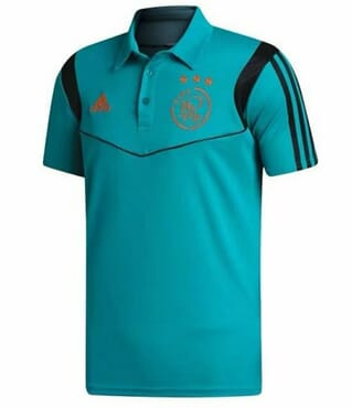 AJAX PRE MATCH POLO-BLUE