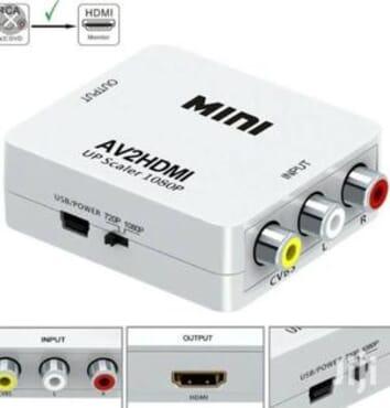 AV To HDMI Converter - 1080p