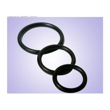 Advanced Silicone Penis Ring Premature Ejaculation Delay Aid Sex Toy (3Pcs)