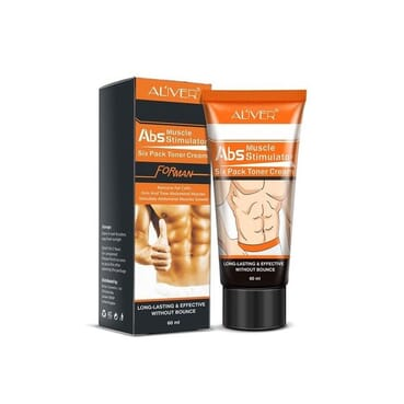 Aliver Ultimate Abs Stimulator Muscle Trainer - Six Packs Toner Cream(Removes Fat & Renews Skin Firms)