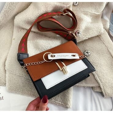All Outfit Matching Shoulder Mini PU Leather Female Handbag