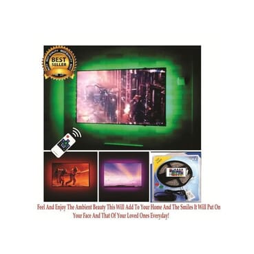 5 meters All TV Size Led TV/LCD TV/smart TV Back light With Remote Control
