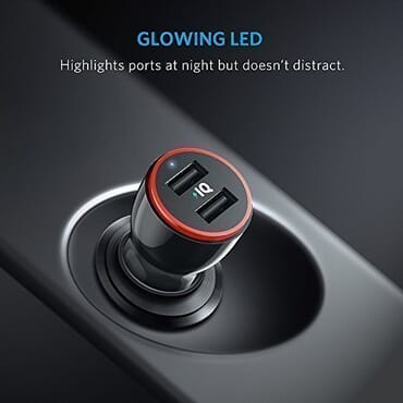Anker 24W PowerDrive 2 Dual Port USB Car Charger Brand: Anker