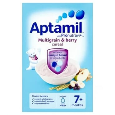 Aptamil Multigrain & Berry Cereal (pack Of 4)