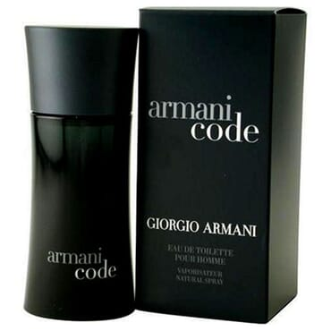 Armani Code by Giorgio Armani EDT for Men - 125ml