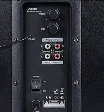 F & D F560X SOUND SYSTEM