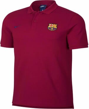 BARCELONA PREMATCH POLO RED