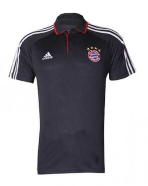 BAYERN MUNICH PRE-MATCH POLO-BLACK