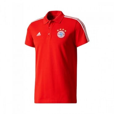 BAYERN MUNICH PRE-MATCH POLO-RED