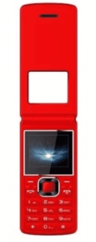 bontel A300 1000mAah Phone - Red | Skilzar