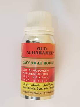Oud Alharameen Baccarat Rouge Perfume oil -100ML